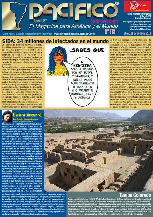 Revista Pacífico Nº 115 Arqueología