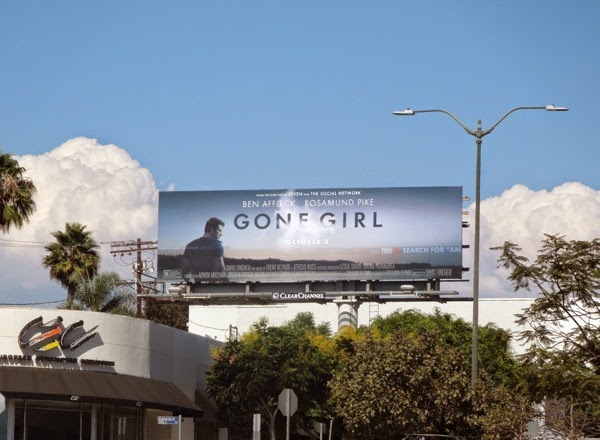 Gone Girl movie billboard