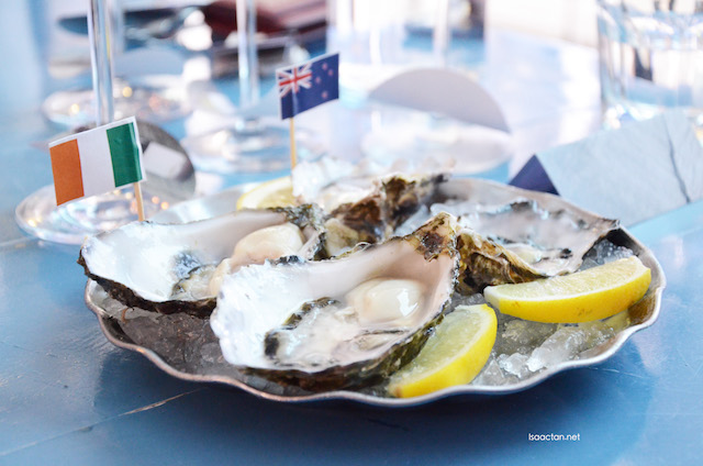 Cloudy Bay oysters, paired with Cloudy Bay Sauvignon Blanc 2015