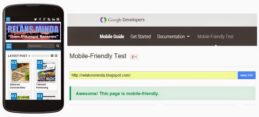 Trafik Suku Pertama 2015 - 1.25 Juta Pageviews! - Mobile Friendly