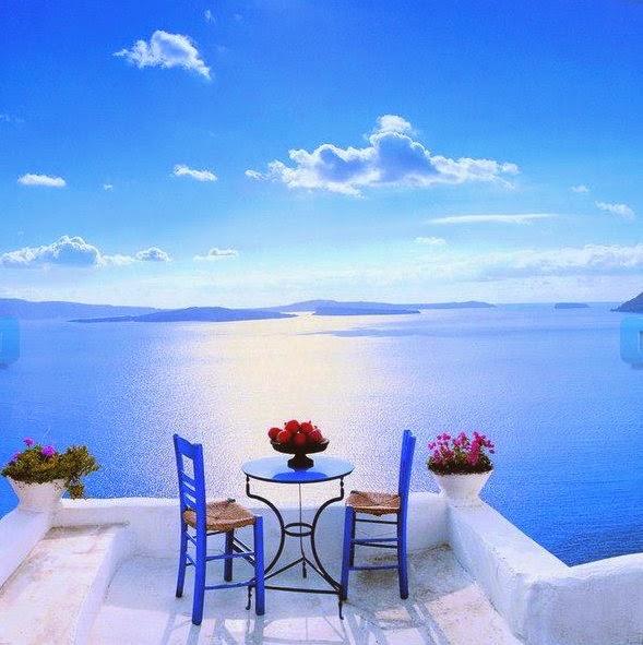 My idea of Paradise, Santorini, Fashion and Cookies, fashion blogger