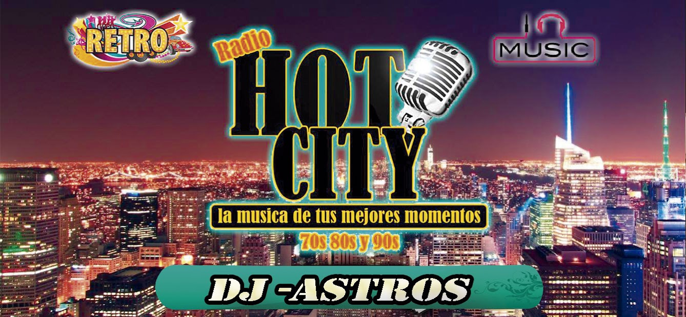 RADIO HOT CITY 70,80 Y 90S
