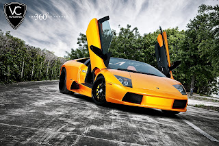 Lamborghini Murcielago on 360 Forged VC Motoring HD Wallpaper