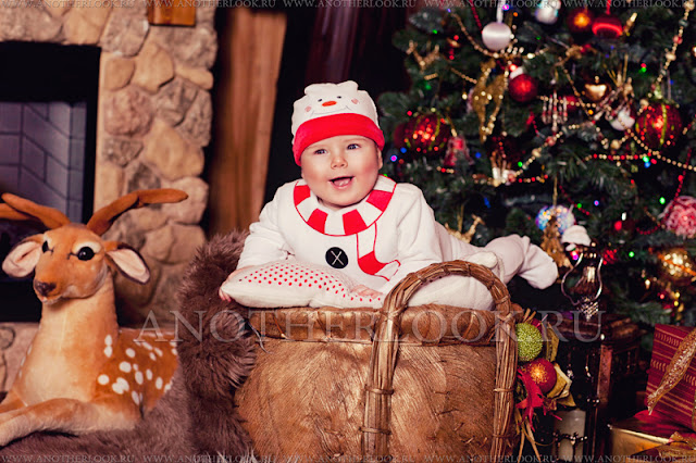детская фотосессия новый год
