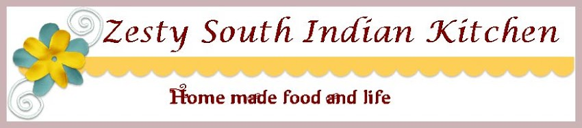 Zesty South Indian Kitchen Blogroll and Awards