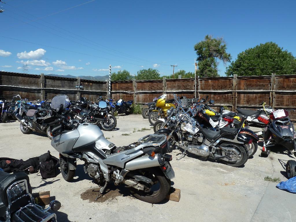 Motorcycle Junkyard Bing images