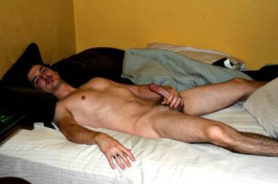 Gay for Uzi men dildo