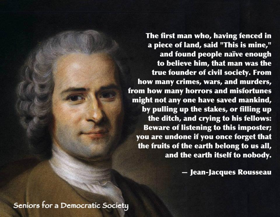 Rousseau Quotes On Human Nature