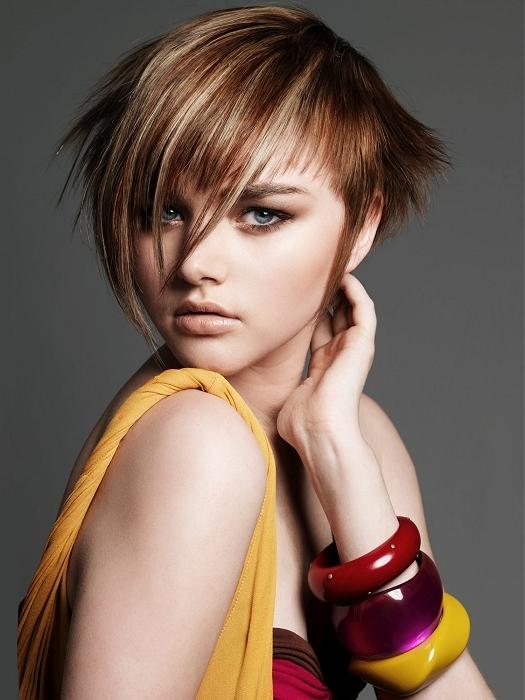 punk girls hairstyle