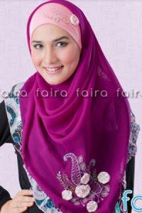 Faira Jilbab BA 381 - Fuchia Tua (Toko Jilbab dan Busana Muslimah Terbaru)