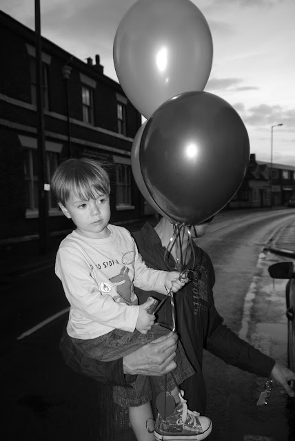 balloons, birthday, party