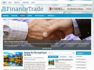 FinanceTrade - Free Wordpress Theme