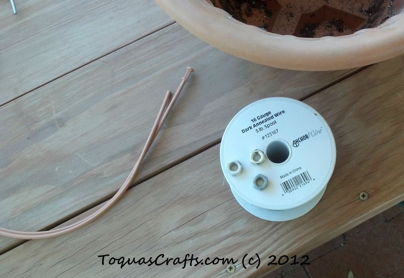 Toqua\'s Crafts: Hanging Pot Fix
