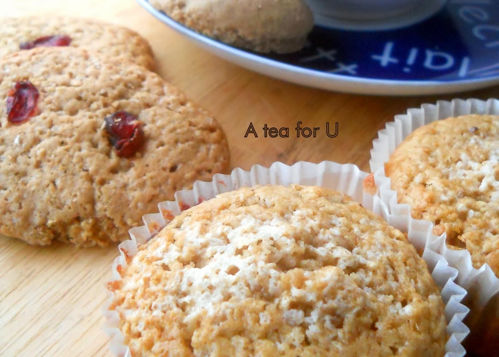Super Tre ricette di biscotti e muffin con farina e crusca di avena | A  MT94
