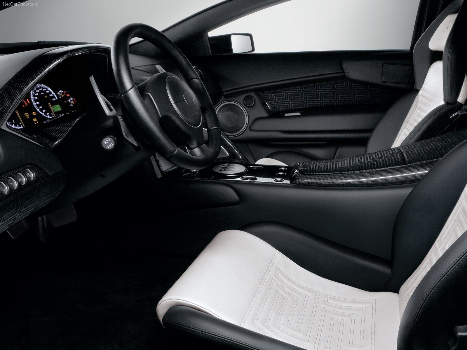 Hình ảnh siêu xe Lamborghini Murcielago LP640 Versace 2007 & nội ngoại thất