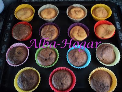 magadalenas de chocolate y canela alba hogar