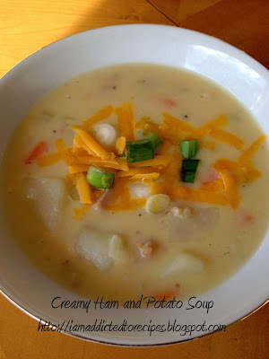 Creamy Ham & Potato Soup | Addicted to Recipes