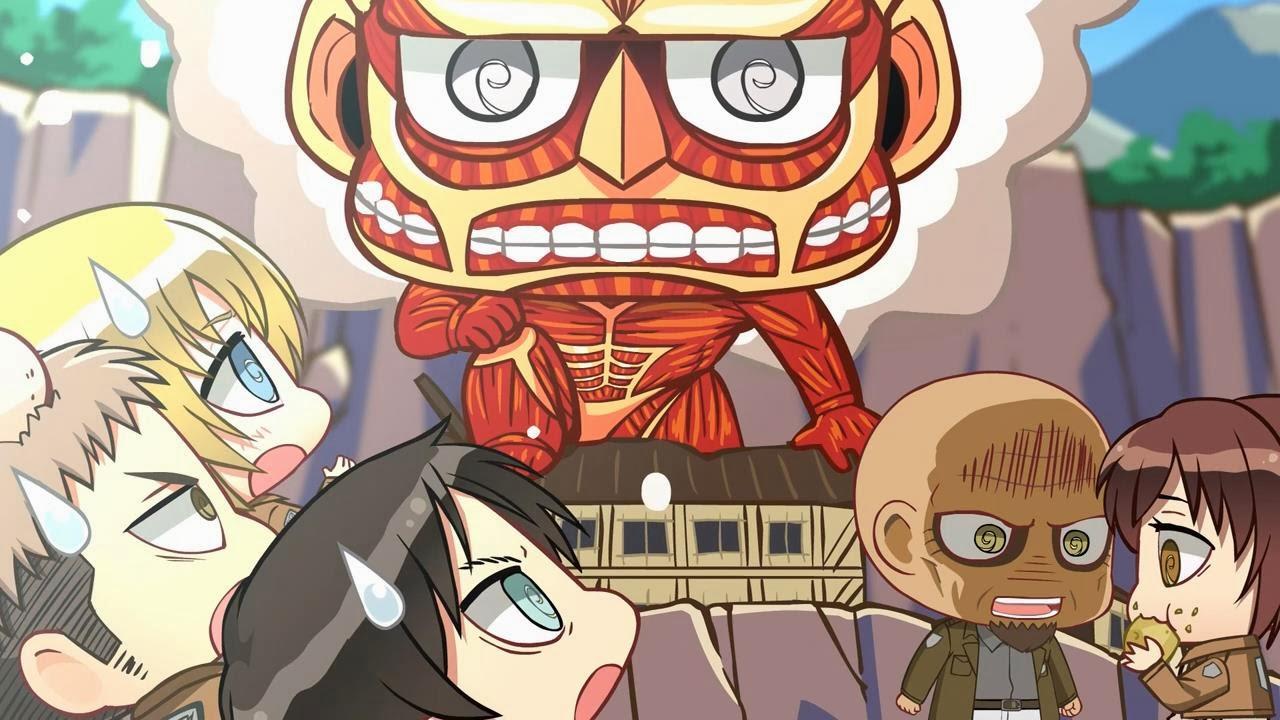 Shingeki no Kyojin: extras (parodia Chibi)