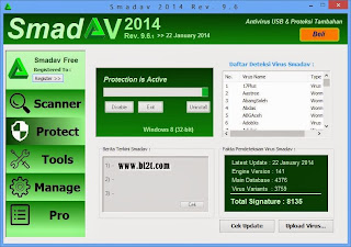 Download Smadav 2014 Rev. 9.6.1 Pro + Serial Key Terbaru