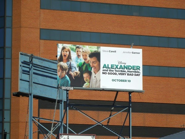 Disney Alexander film billboard