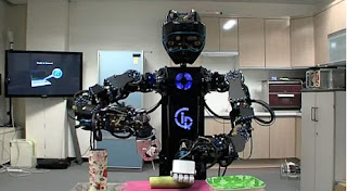 Robot Ciros, Robot, Teknologi