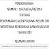 Pengumuman Hasil Seleksi CPNS Kemendikbud 2014