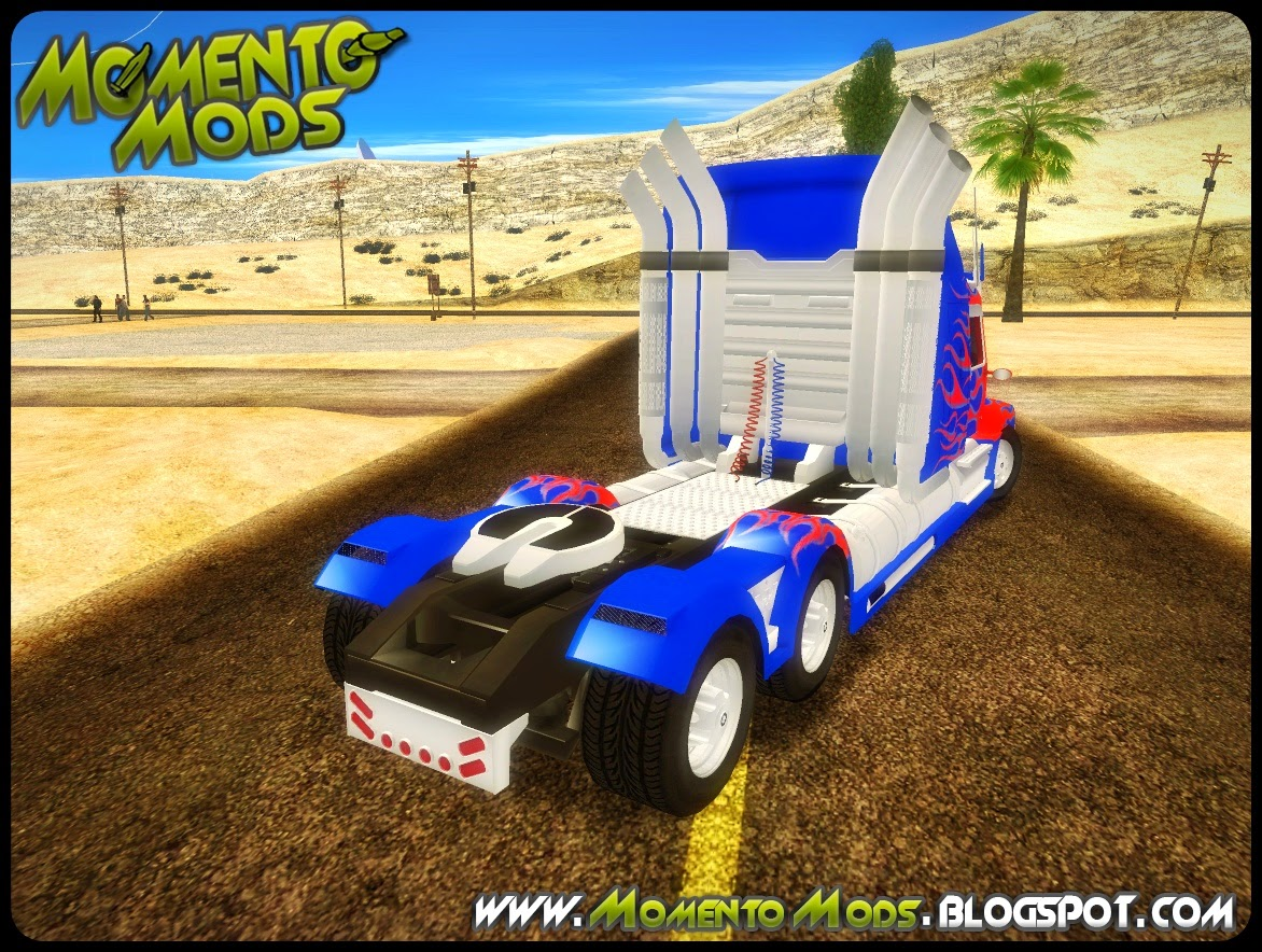 GTA SA - Transformers 4 Western Star 5700