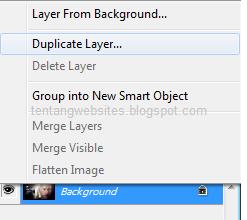Cara membuat layer photoshop
