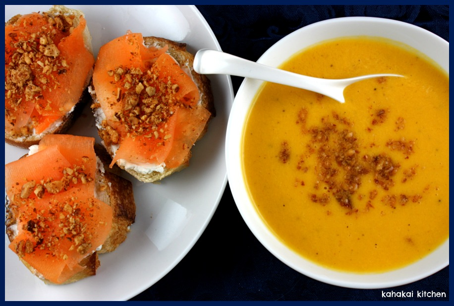 Creamy Melon Gazpacho with Goat Cheese, Melon and Almond Toasts: Cool ...