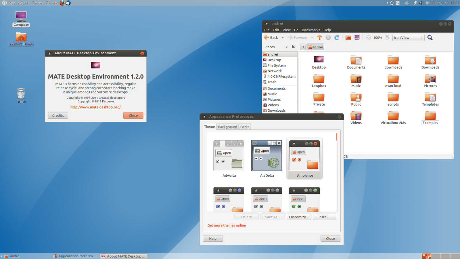 Portuxhuevos entornos de escritorio ubuntu - Environnement bureau linux ...