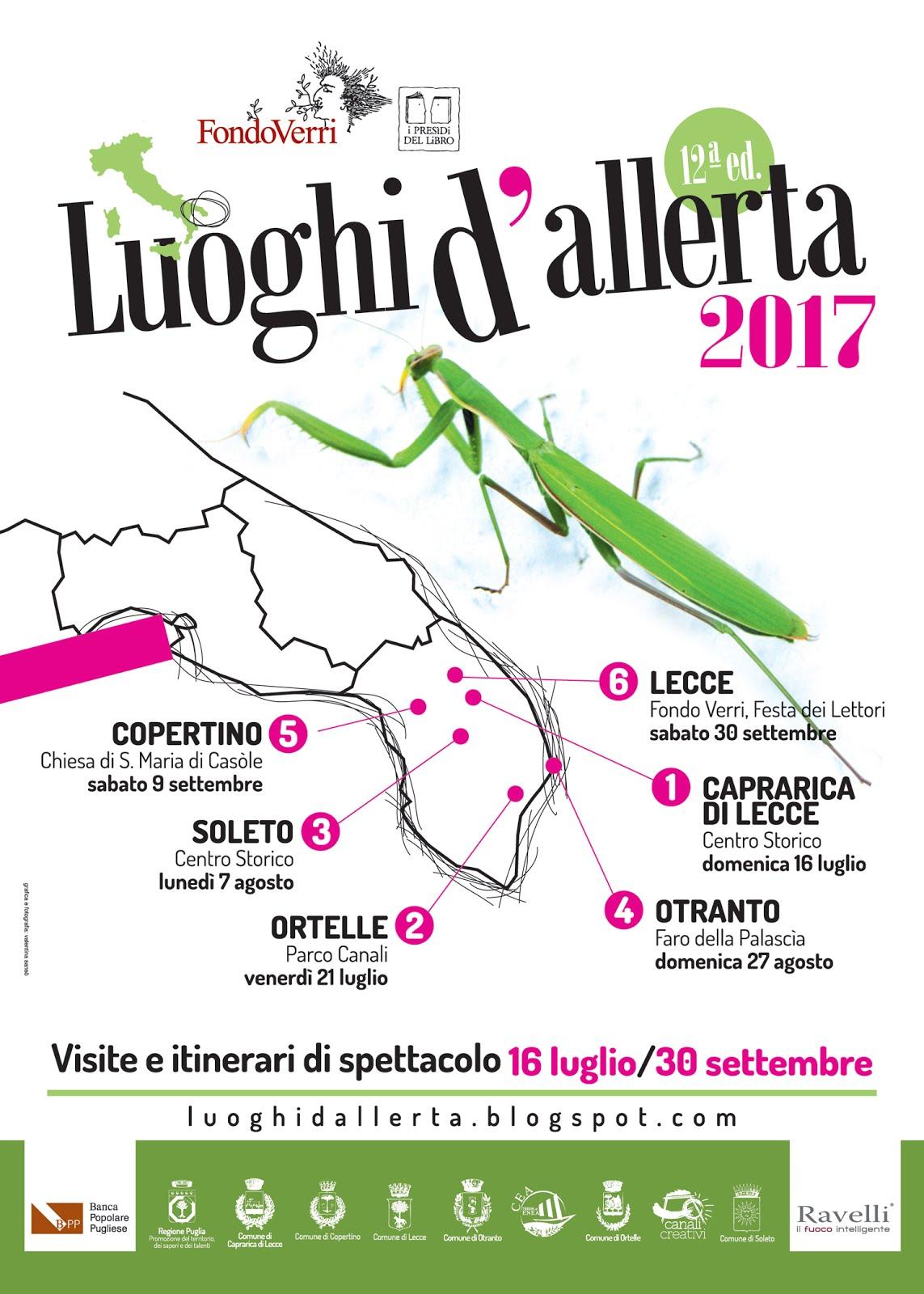 Luoghi d'Allerta XII edizione
