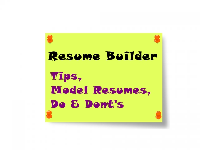 Fresher Station Resume Builder Tips & Free Model Resumes