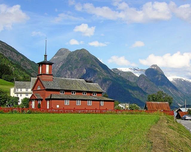 Fjaerland church  - Norway