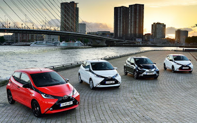 Cars Toyota Aygo x-Clusive News Idition