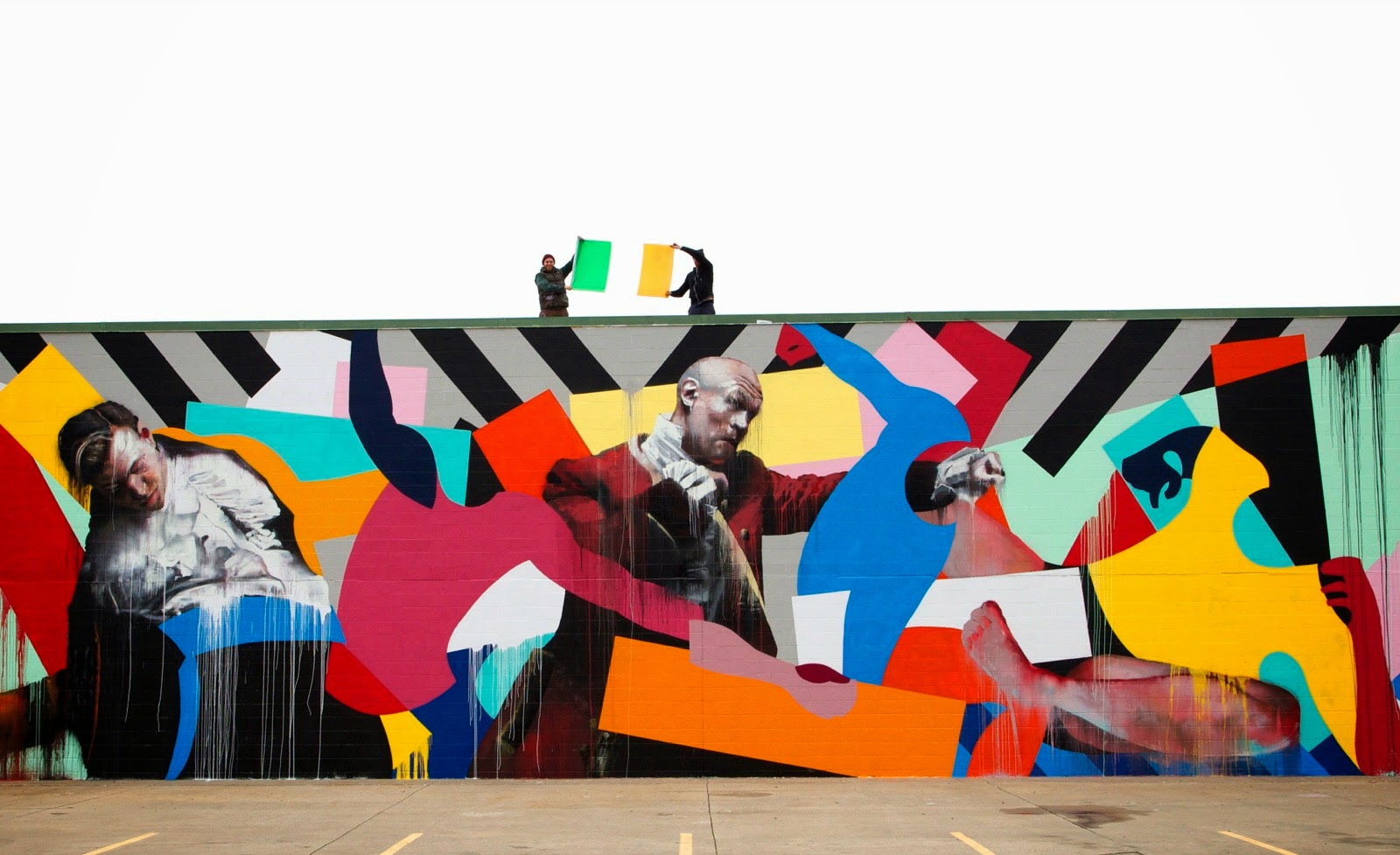 Conor Harrington is currently in Fort Smith, Arkansas where he just finished working on this epic collaboration with Maser.