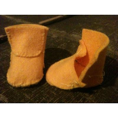 как сделать туфли для куклы, как сделать туфли для куклы своими руками, творчество с детьми, простые игрушки,
