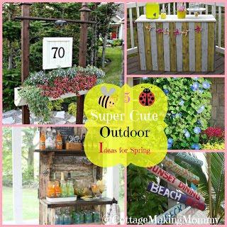 5 Super Cute Outdoor Ideas for Spring