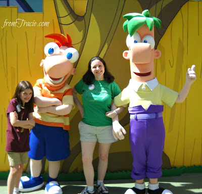 Hanging Out With Phineas and Ferb