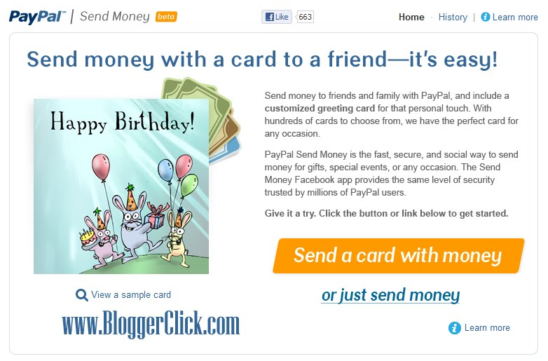 how to send money to a friend via paypal