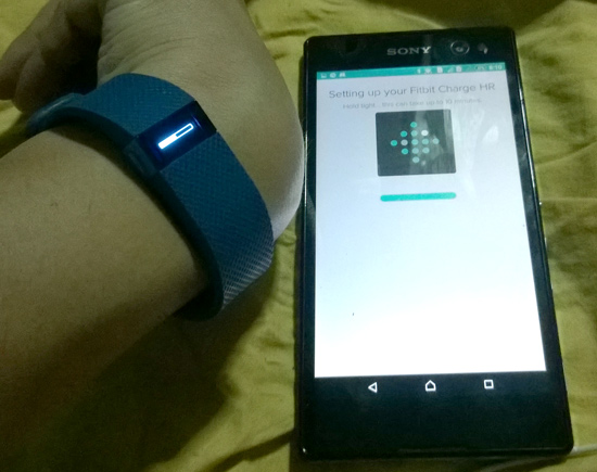 fitbit setup charge