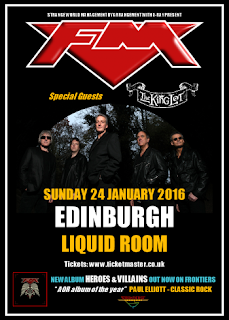 FM / The King Lot - Edinburgh Liquid Room - 24 Jan 2016