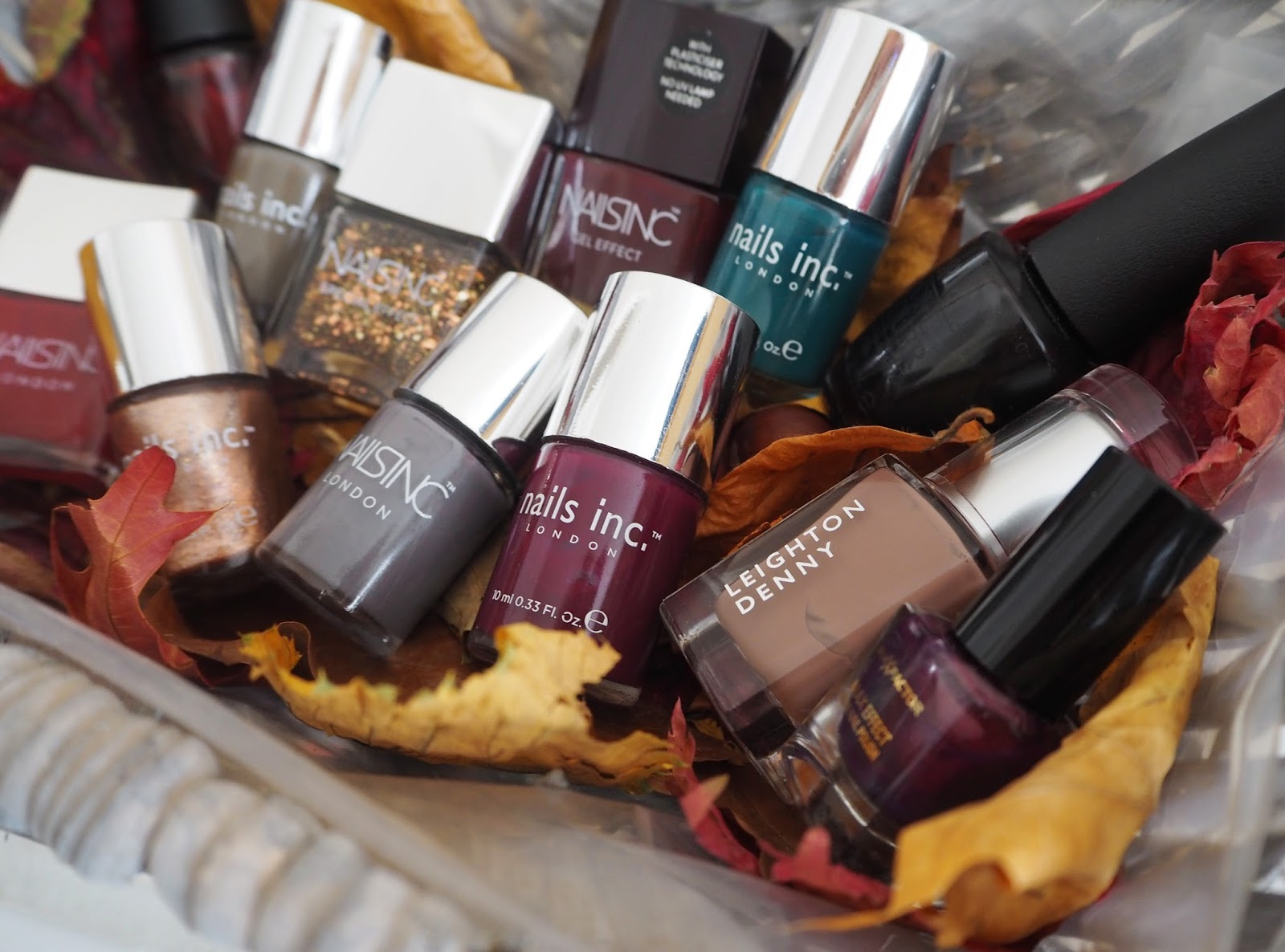 My Favourite Autumn/Winter Nail Polishes | Katie Kirk Loves