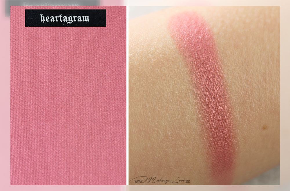 Kat von D Everlasting Face Shaper Blush Heartagram Review Swatch