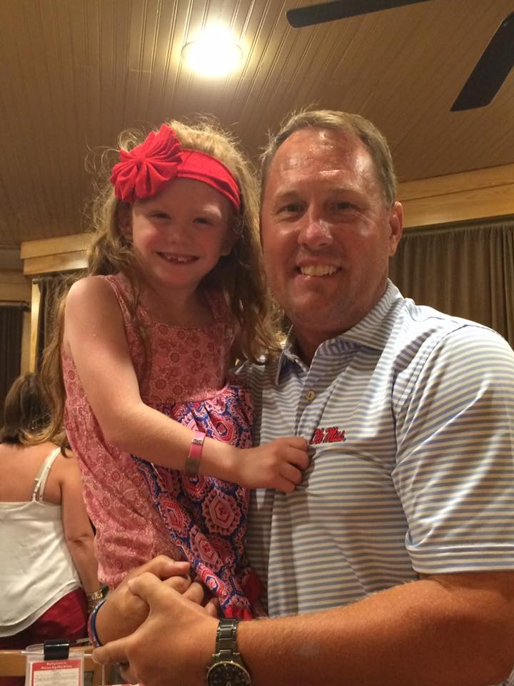 Avery and Coach Freeze