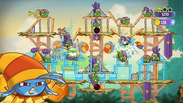 Angry Birds Stella Untuk Ponsel Android Dan iOS