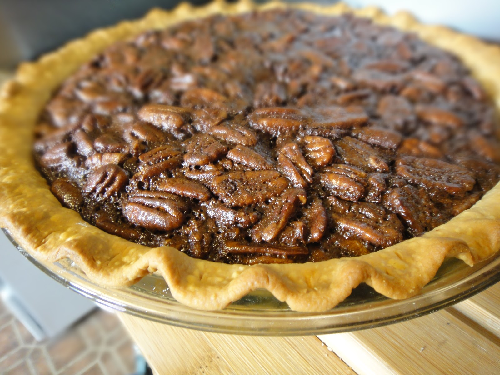 Highly Experimental: Chocolate Bourbon Pecan Pie