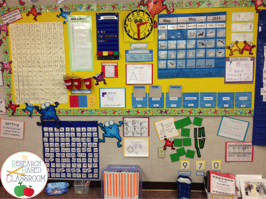 Calendar Math Ideas First Grade : The research based classroom diggin into next year
