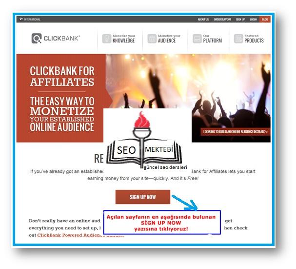 Affiliate marketing, Clickbank, Clickbank üye olma, Clickbank üyeliği, GooMass, Yeni Clickbank GooMass En İyi Eğitim Seti,