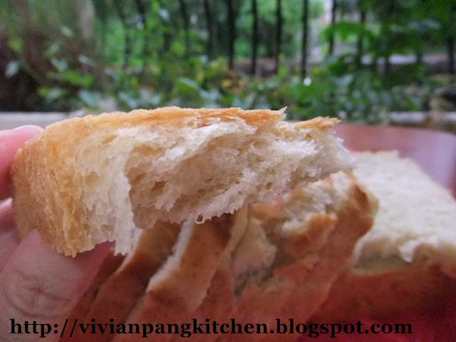 ... Pang Kitchen: Banana Loaf Bread/ Straight Dough Method - Bread # 1