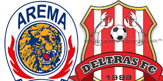 Skor Akhir Arema vs Deltras | Hasil Pertandingan ISL Selasa 12 Juni 2012